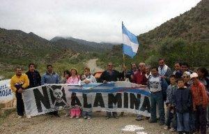 Vecinos autoconvocados por NO a la mineria